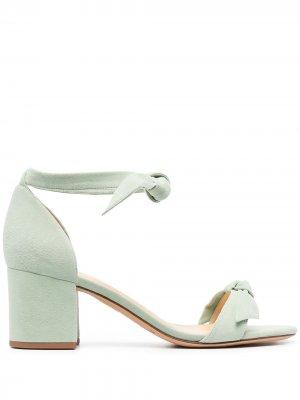 Босоножки на блочном каблуке Alexandre Birman. Цвет: зеленый
