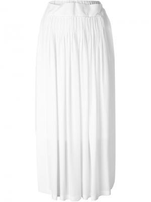 Асимметричная юбка Nº21. Цвет: белый