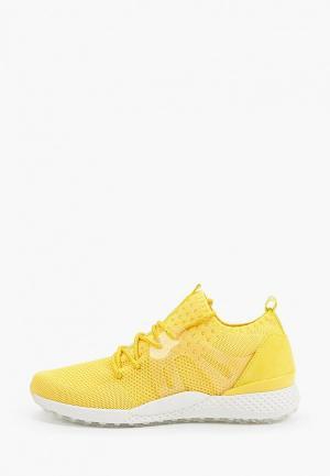 Кроссовки Marco Tozzi. Цвет: желтый