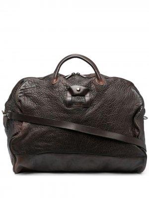 Дорожная сумка с верхними ручками Numero 10. Цвет: коричневый