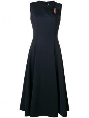 Платье Calvin Klein 205W39nyc. Цвет: синий