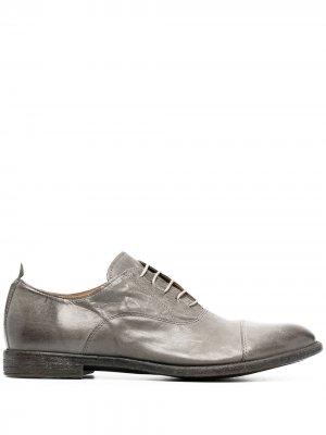 Туфли оксфорды MOMA. Цвет: серый