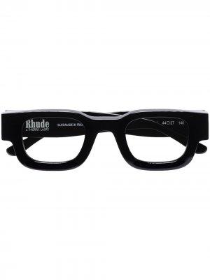 Солнцезащитные очки Black Rhude x Rhevision 101 Thierry Lasry. Цвет: черный