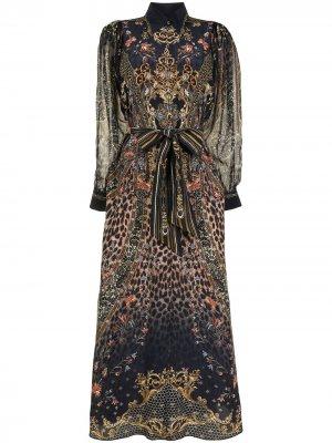 Платье-рубашка Abingdon Palace Camilla. Цвет: черный