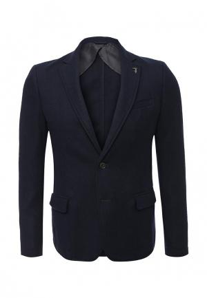 Пиджак Trussardi Jeans. Цвет: синий