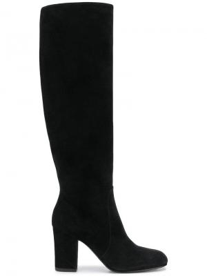 Сапоги по колено Antonio Barbato. Цвет: черный