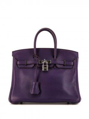 Сумка Birkin 35 2010-го года Hermès. Цвет: фиолетовый