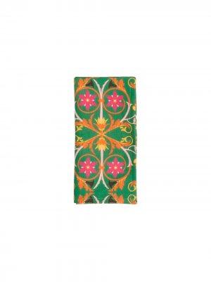Набор из шести салфеток La Doublej. Цвет: зеленый