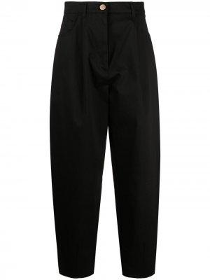Зауженные брюки Vivetta. Цвет: черный