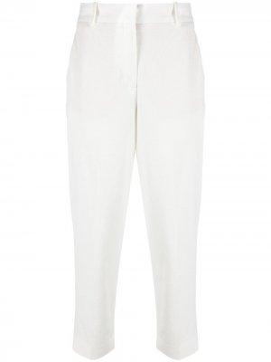 Укороченные брюки строгого кроя Circolo 1901. Цвет: белый
