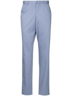 Durban прямые брюки D'urban. Цвет: фиолетовый