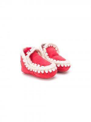 Ботинки Eskimo Mou Kids. Цвет: красный