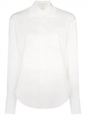Рубашка на пуговицах Materiel. Цвет: белый