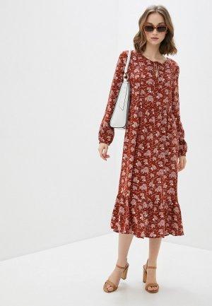 Платье BlendShe. Цвет: коричневый