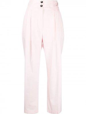 Прямые брюки Philosophy Di Lorenzo Serafini. Цвет: розовый
