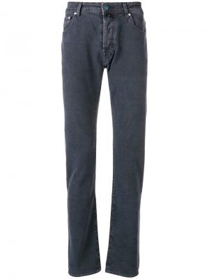 Classic slim-fit jeans Jacob Cohen. Цвет: синий