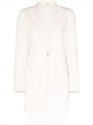 Пальто Weekend на молнии Zilver. Цвет: белый