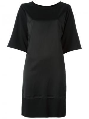 Платье Marvin Minimarket. Цвет: черный