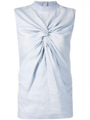 Блузка без рукавов Off-White. Цвет: синий