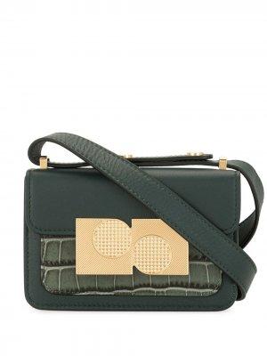 Декорированная сумка-сэтчел Ports 1961. Цвет: зеленый