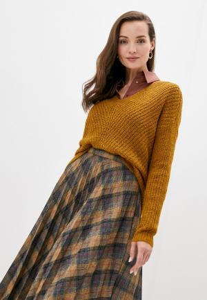 Пуловер Jacqueline de Yong. Цвет: оранжевый