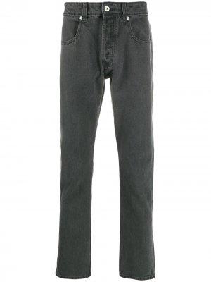 Зауженные джинсы Natural Selection. Цвет: серый