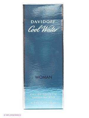 Туалетная вода Davidoff Cool Water, 50 мл. Цвет: прозрачный
