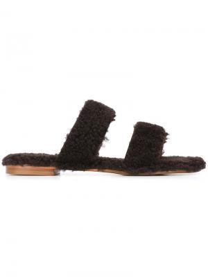 Открытые сандалии Vail Avec Modération. Цвет: коричневый