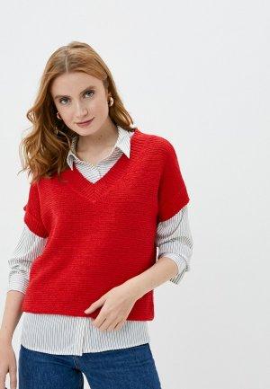 Пуловер Wallis. Цвет: красный