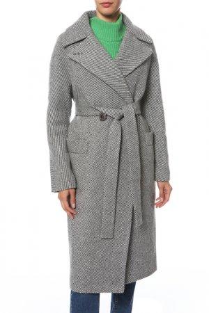Пальто Анора. Цвет: серый