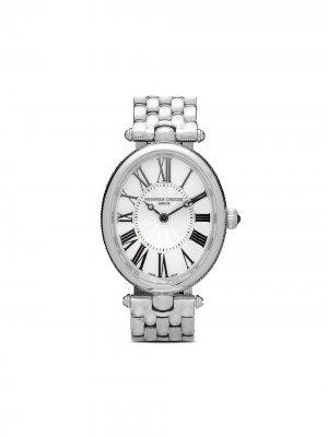 Наручные часы Classic Art Déco Oval 30 x 25 мм Frédérique Constant. Цвет: белый