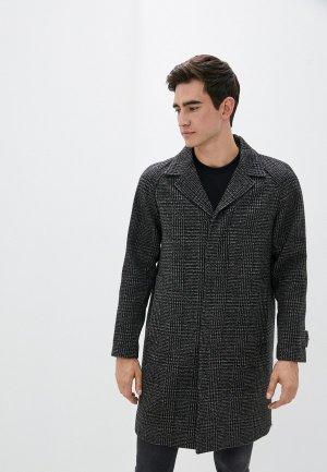 Пальто The Kooples. Цвет: серый