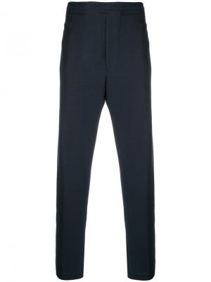 Elasticated waist track trousers Mauro Grifoni. Цвет: синий