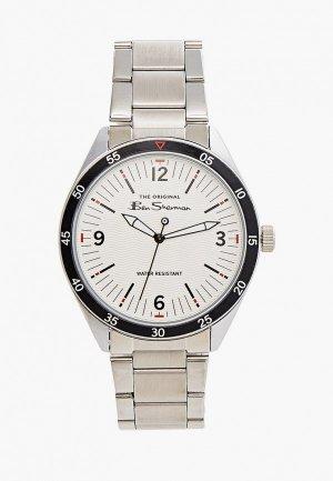 Часы Ben Sherman. Цвет: серебряный