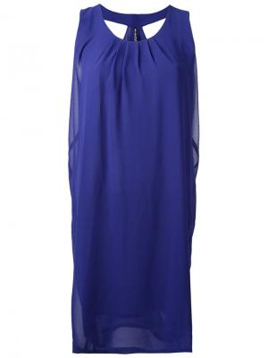 Платье Idoru Minimarket. Цвет: синий