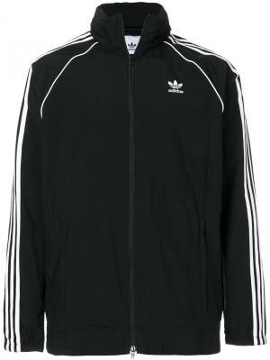 Ветровка Adidas Originals Superstar. Цвет: черный
