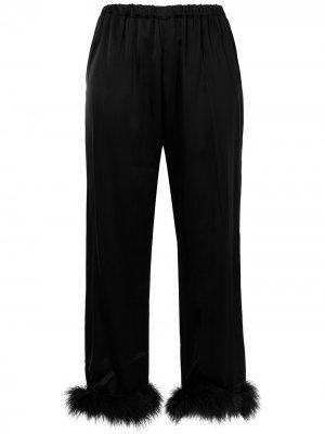 Пижамные брюки Kitty Gilda & Pearl. Цвет: черный