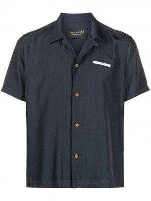 Рубашка с логотипом Viktor & Rolf. Цвет: синий