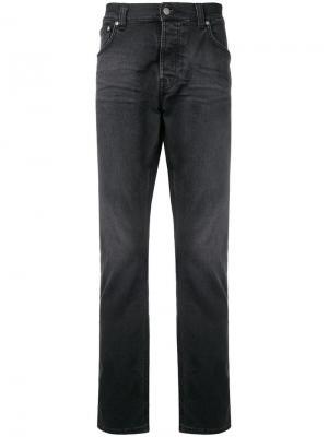 Classic slim-fit jeans Nudie Co. Цвет: черный