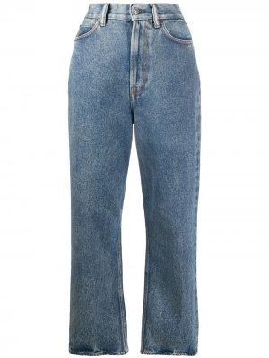 Зауженные джинсы свободного кроя Acne Studios. Цвет: синий