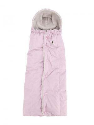 Конверт с флисовой подкладкой Miki House. Цвет: розовый