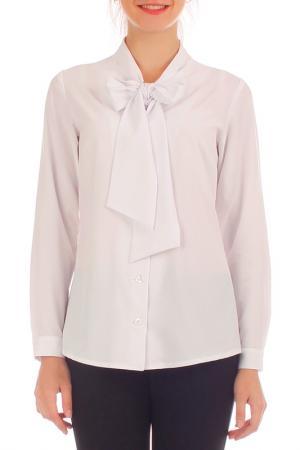 Блузка Lamiavita. Цвет: белый