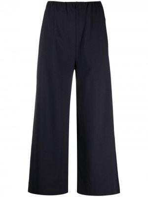 Укороченные брюки широкого кроя Harris Wharf London. Цвет: синий