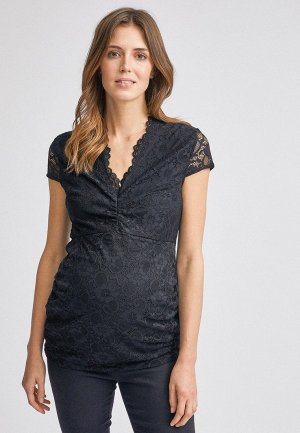 Блуза Dorothy Perkins Maternity. Цвет: черный