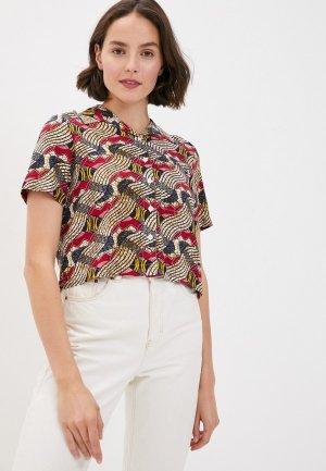 Рубашка Element. Цвет: разноцветный