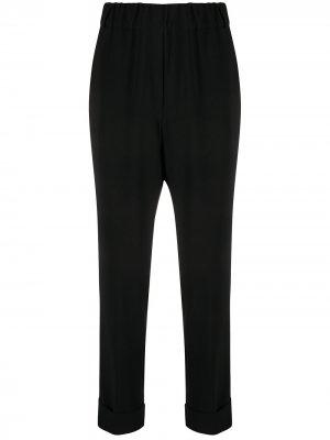 Зауженные брюки с завышенной талией Brag-wette. Цвет: черный
