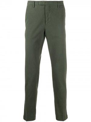 Узкие брюки чинос Pt01. Цвет: зеленый