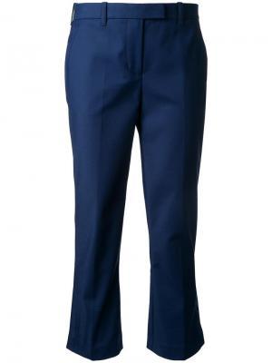 Укороченные брюки 3.1 Phillip Lim. Цвет: синий