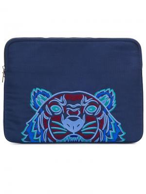 Чехол для ноутбука Tiger Kenzo. Цвет: синий
