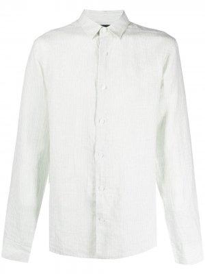 Рубашка на пуговицах Vince. Цвет: зеленый